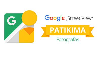 Google Street View Verslo Panorama