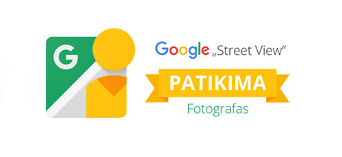 Google Street View Patikima Verslo Panorama